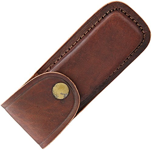 5 Inch Brown Leather Knife Sheath