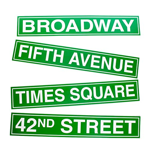 New York City Street Sign Cutouts - 1