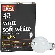 GE Private Label 21048 Do it Best Soft White Light Bulb-40W 4PK SW BULB