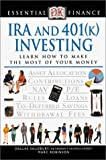 Essential Finance: IRA and 401(k) Investing (078947171X) by Robinson, Marc