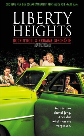 Liberty Heights - Rock'n'Roll & krumme Geschäfte [VHS]