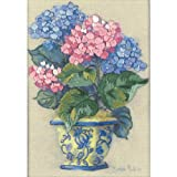 Dimensions Crewel Kit, Colorful Hydrangea