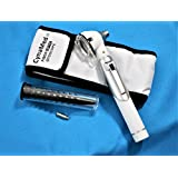 Premium Fiber Optic Otoscope Mini Pocket White Ent Diagnostic Set+1 FREE BULB ( CYNAMED BRAND )
