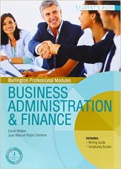 BUSINESS ADMINISTRATION FINANCE SB GS Burlington Books