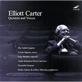 Carter: First Recordings; Quintet For Piano And Strings; Quintet For Piano And Winds; Syringa