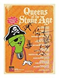 Queens Of The Stone Age Autographed Signed 21cm x 29.7cm A4 Photo Poster