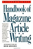 Writer's Digest Handbook of Magazine Article Writing