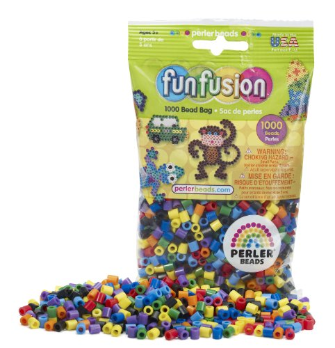 Perler Beads Rainbow Bead Bag (1000 Count)