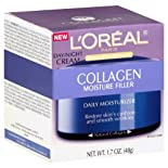 L'Oreal Skin Expertise Daily Moisturizer, Day/Night Cream, Collagen Moisture Filler, 1.7 oz.