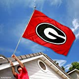 Georgia Bulldogs Dawgs University Large College Flag at Amazon.com