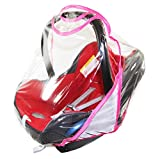 Rain Cover To Fit Maxi-Cosi cabriofix & pebble rain cover Fast Dispatch â New â VENTILATED (pink)