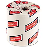 Boardwalk 6170 One-Ply Toilet Tissue Sheets, White, 1000 Sheets per Roll (Case of 96)