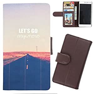 DooDa - For Samsung Galaxy Trend PU Leather Designer Fashionable Fancy Wallet Flip Case Cover Pouch With Card, ID & Cash Slots And Smooth Inner Velvet With Strong Magnetic Lock