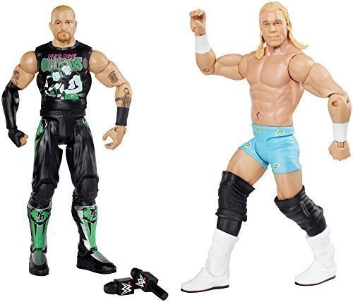 wwe-figure-two-packs-series-no32-billy-gunn-vs-road-dogg-with-2-microphones-by-mattel