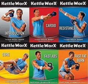 Kettleworx 6 Week Transformation 6 DVD set (Kettleworks)