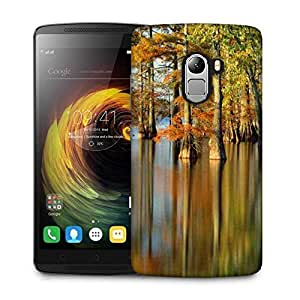 Snoogg Water In Forest Designer Protective Phone Back Case Cover For Lenovo Vibe K4 Note