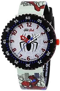 Flik Flak Spiderman Kinder-Armbanduhr FFL007