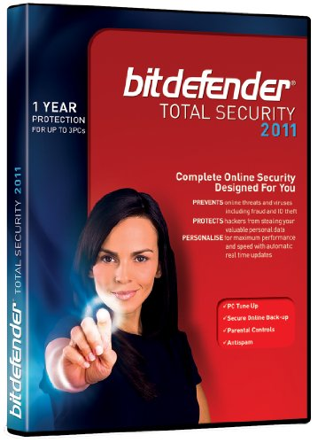BitDefender Total Security 2011, 3 Users, 1 Year Subscription (PC)
