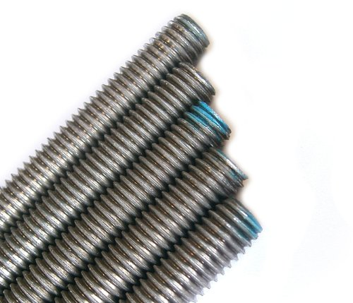 Stainless Steel Threaded Rod 1/2-13 x 3FT (5 Piece Bundle)