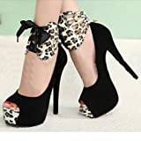 Ladies Women High Heels Pumps Stiletto Platform Peep Toe Sandal Waterproof Shoes