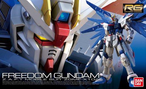 Gundam SEED : ZGMF-X10A Freedom Gundam Real Grade 1/144 Scale Model Bandai