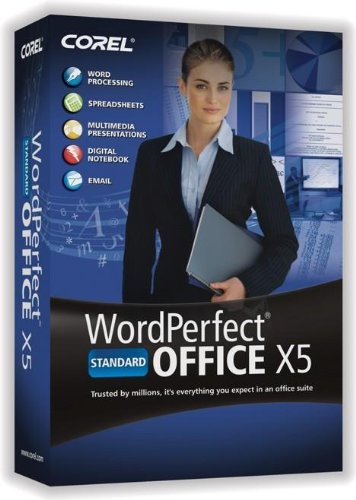WordPerfect Office X5 Standard Upgrade