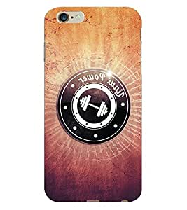 Fuson 3D Printed Pattern Designer Back Case Cover for Apple iPhone 6S Plus - D911