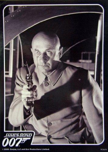 007 James Bond ( ジェームスボンド ) Blofeld  ( ブロフェルド ) ポストカード ( Postcard ) 10.5cm×14.8cm