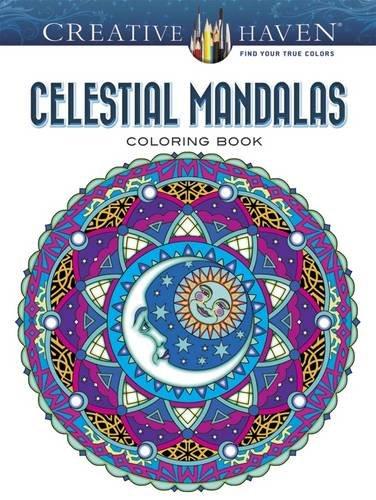 Creative Haven Celestial Mandalas Coloring Book ISBN-13 9780486804804