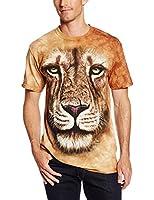 Lion Warrior Adult Animals Unisex T Shirt The Mountain