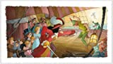Toby Bluth Blast You Pan Peter Pan Disney Art