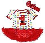Petitebelle - Body - para bebé niña Rojo rosso XL