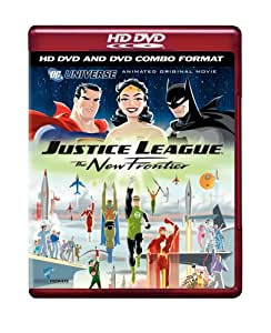 Justice League - The New Frontier (Combo HD DVD and Standard DVD)