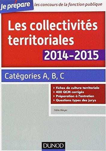 Les collectivités territoriales 2014-2015