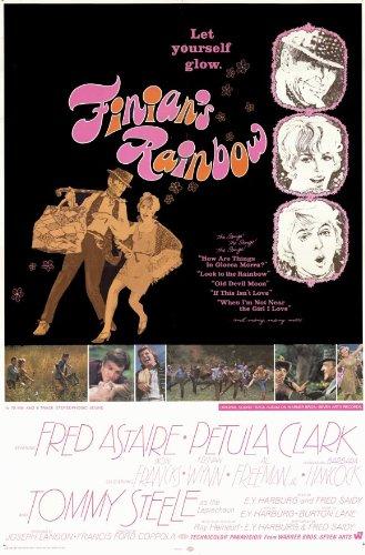 Finian s Rainbow-Poster Film C 11 In 28 x 17 cm x 44 cm, motivo: Fred Astaire Petula Clark Tommy Steele Keenan Wynn Al Freeman Jr. Francks Don