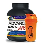 Advance Nutratech Shaker 600ml& ADVANCE 100% WHEY 25gm Protein Per 33gm 2kg Chocolate (Combo Offer)