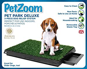 PetZoom Pet Park Deluxe 3-Piece Dog Relief