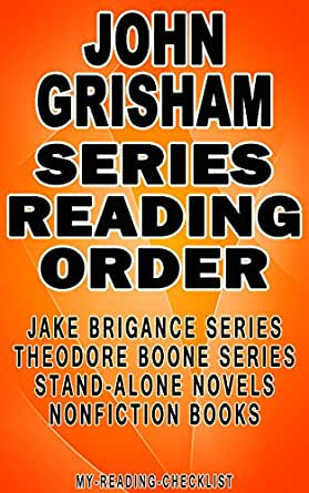 john grisham series reading order my reading checklist