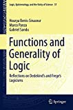 img - for Functions and Generality of Logic: Reflections on Dedekind's and Frege's Logicisms (Logic, Epistemology, and the Unity of Science) by Hourya Benis-Sinaceur (2015-06-25) book / textbook / text book