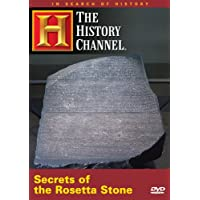 DVD, Secrets Of The Rosetta Stone, The History Channel