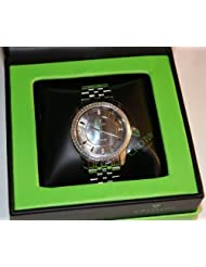 Croton 0.5 CT TW Diamond GENTS STAINLESS STEEL Swiss Quartz Watch