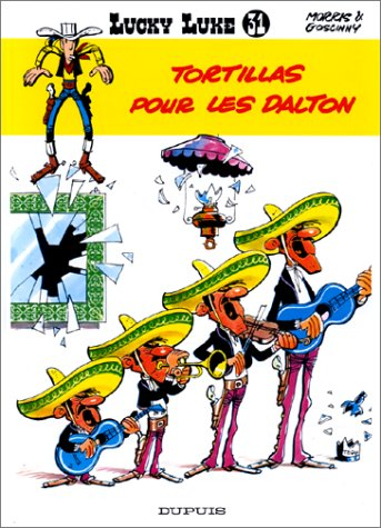 Lucky Luke Tortillas pour les Dalton