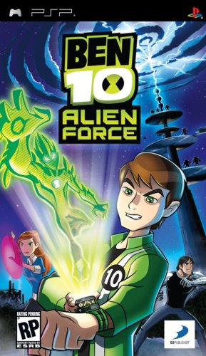 Ben 10 Alien Force [PsP] [Full] [Multi-5 Incluye Español]