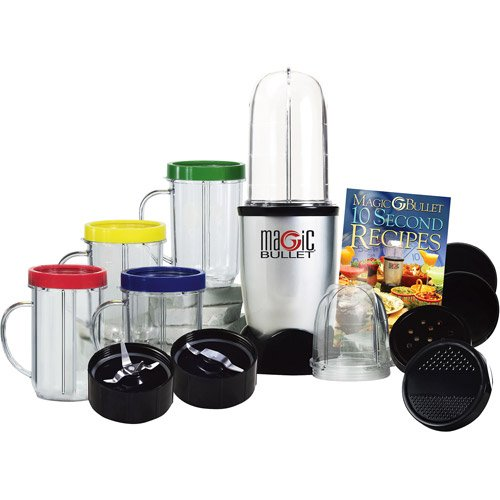 Magic Bullet Express Deluxe 26-Piece Mixer & Blender (25-Piece With Bonus Ice Shaver Blade) front-368770