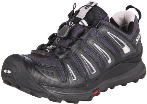 Salomon Women's XA Comp 6 GTX Trail Running Shoe,Asphalt/Black/Aluminum,10 M US