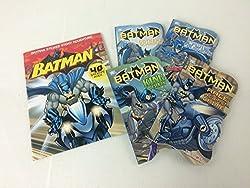 DC Comics Batman® Board Books & Sticker Story Set