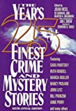 img - for The Year's 25 Finest Crime & Mystery Stories (6th ed) (No. 6) book / textbook / text book