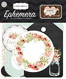 Carta Bella Paper Company Rustic Elegance Ephemera Wedding Scrapbook Embellishments