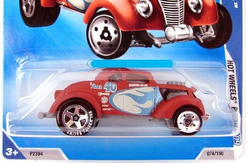 2009 Hot Wheels Racing #08 Brown PASS'N GASSER 1:64 Scale Collectible Car - 1