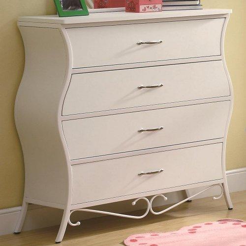 Coaster Home Furnishings Dresser, White front-500721